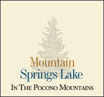 Mountain Springs Lake